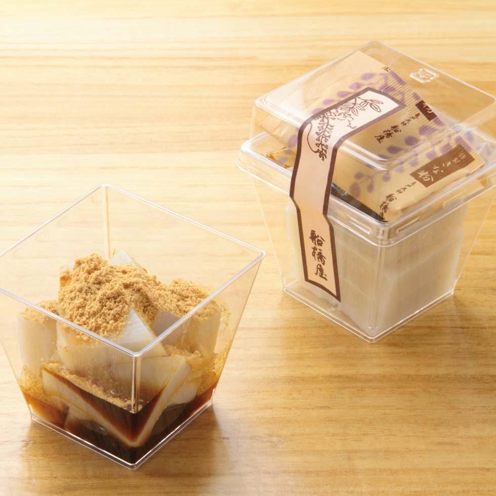 船橋屋 【母の日限定】くず餅乳酸菌セットのカップくず餅