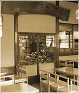 本店の喫茶ルーム